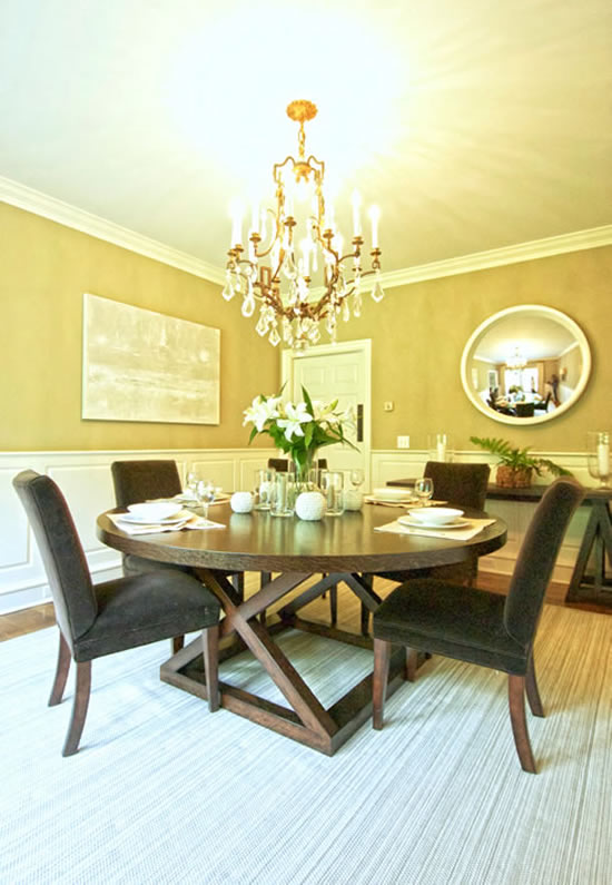 Carrie Miller Design: Tesey Dining Room