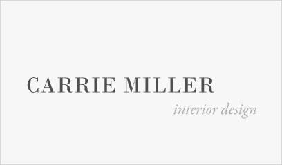 Carrie Miller: Interior Design